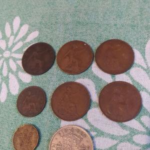 Νομίσματα Αγγλίας 1903-1949...