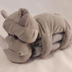 Βρεφική κουβερτούλα με κουκλάκι