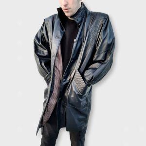 Δερμάτινο jacket vintage unisex L - XL!