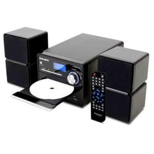 Majestic AH-2336 Micro Hifi Stereo System (CD Player, MP3 USB Connectivity & LCD Display) AC 230V-50Hz- Μαύρο