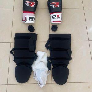 Γάντια επικαλαμίδες Kick boxing 2 ΣΕΤ