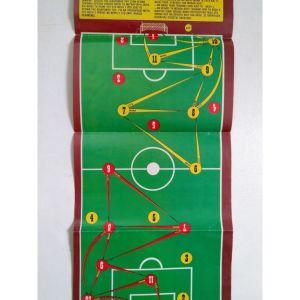 1980 Επιτραπέζιο Ποδοσφαιράκι Μπλεκ / Πίσω όψη αφίσα μηχανές.