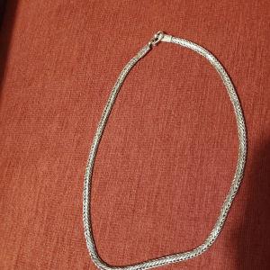 Αλυσίδα για το λαιμό ασημένια 925