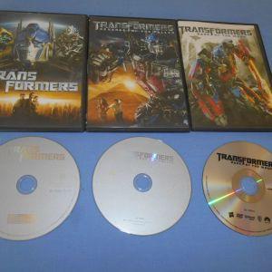 TRANSFORMERS / TRANSFORMERS REVENGE OF THE FALLEN / TRANSFORMERS DARK OF THE MOON - DVD