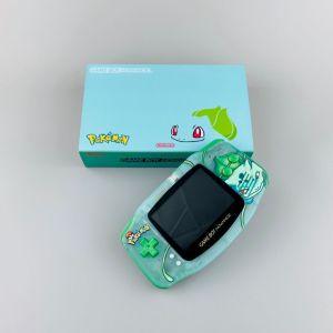 Nintendo Game Boy Advance GBA IPS V2 Pokemon Bulbasaur Edition