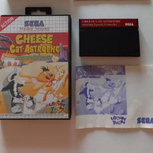Cheese Catastrophe Sega Master System