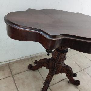 κονσόλα εποχής vintage Αντίκα μασιφ ξύλο σκαλιστό