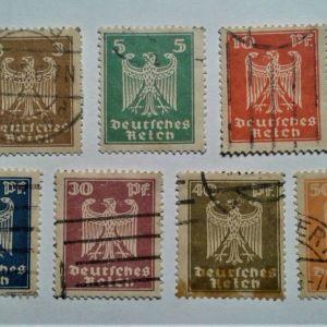 Γραμματόσημα GERMANY 1924
