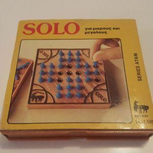 Επιτραπέζιο δεκαετιας 1980 της ΔΟΥΡΕΙΟΣ - SOLO (σπάνιο συλλεκτικό)