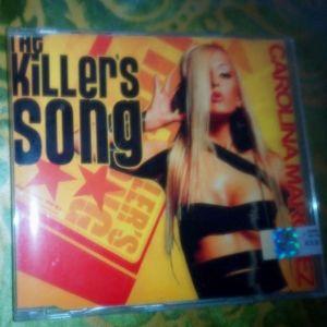 CD MAXI ΣΦΡΑΓΙΣΜΕΝΟ-CAROLINA MARQUEZ-THE KILLER S SONG