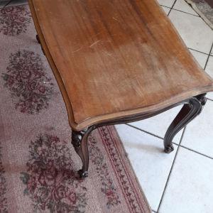 Τραπεζακι σαλονιου vintage μασιφ ξυλο