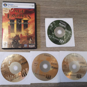 age of empires 3 μαζί με τα 2 expansion