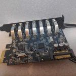 SuperSpeed USB 3 PCI EXPRESS USB HUB CARD