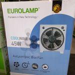 Ανεμιστήρας Box Fan 45W με επιλογή αυτόματης περιστροφής του πλέγματος