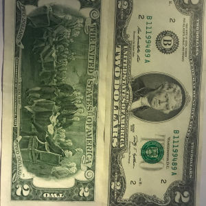 2 Δολάρια Αμερικης