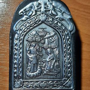 Ασημένια εικονίτσα της Μεγαλόχαρης της Τήνου