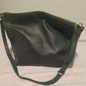 hobo τσάντα δερμάτινη morelle