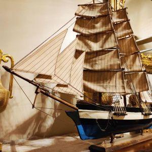 Ιστιοφόρο καράβι πλοίο αντίκα χειροποίητο διακόσμηση ντεκόρ vintage ρετρό θάλασσα ναυτικά αντικείμενα διακοσμητικά nautical