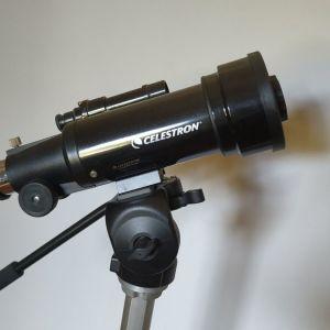 Τηλεσκόπιο, προσοφθάλμια, βαση και επαγγελματικό τρίποδο