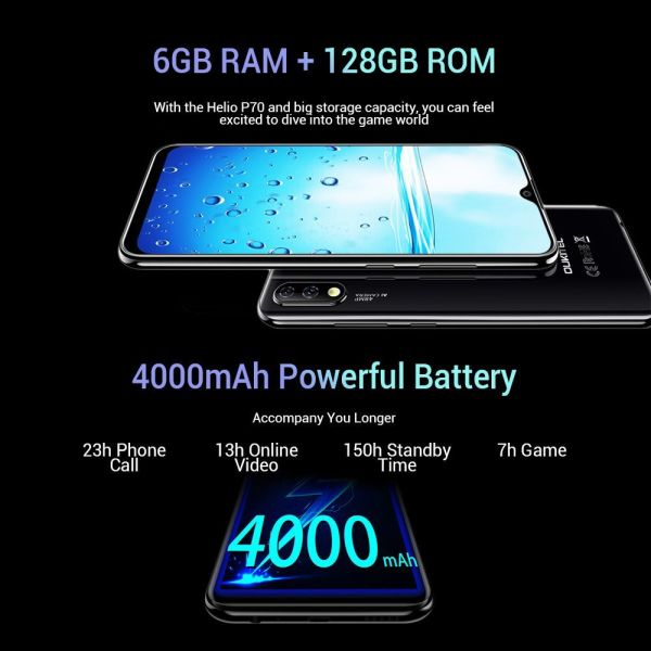 OUKITEL Y4800 6.3 intses FHD+, Helio P70, 6GB RAM 128GB ROM, 48+5MP ke 16MP, 4000MAh, kenouria, engiisi!