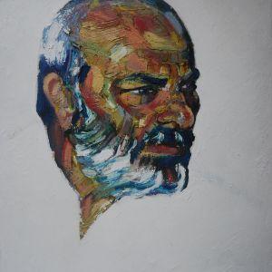 12 πορτραιτα . ζωγραφος αντωνης στεφανακος