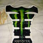 Προστατευτικο Αυτοκολλητο Ντεποζιτου Μηχανης Monster Energy