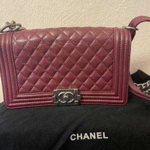 Τσάντα Δερμάτινη Boy Chanel