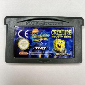 Spongebob squarepants Creature from the Krusty Krab, Game boy game