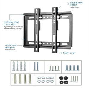 """Βάση Τοίχου Για Τηλεόραση 14-42"""" - LED/LCD/PDP Flat Panel TV Wall Mount"""