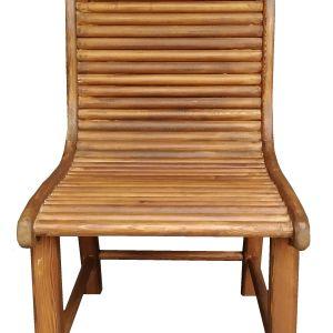 Χειροποίητη ξύλινη καρέκλα με πλάτη
