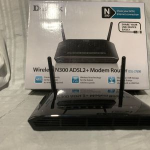 Ρούτερ D-LINK Wireless N300 ADSL2+ Modem Router DSL 2750B