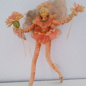 Vintage  Χειροποίητη Κούκλα Διακοσμητική