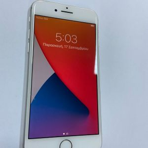 APPLE iPhone 8 64GB SILVER με 3 ΜΗΝΕΣ ΕΓΓΥΗΣΗ