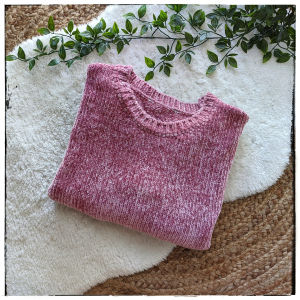 [ PULLOVER ] Soft Pink Pullover