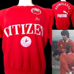 προπονητικό Ολυμπιακού 1986