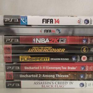 Πωλούνται παιχνίδα PS3
