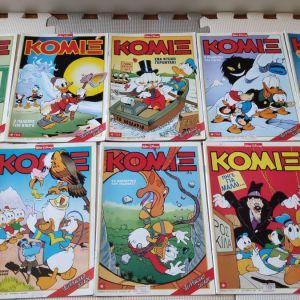 Διάφορα παλιά τεύχη Κόμιξ
