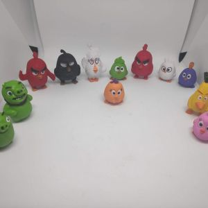 12 Συλλεκτικες Φιγουρες Angry Birds