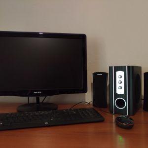 Πλήρες Desktop PC Intel i3 8GB