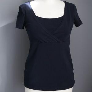 H&M Mama μπλε t-shirt θηλασμου.