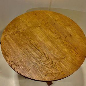 ξύλινο τραπεζάκι (για βεράντα - κήπο και καθιστικό σε φυσικό δρυς )