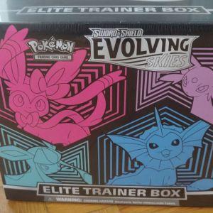 Pokemon TCG ΣΦΡΑΓΙΣΜΈΝΟ - Κάρτες - Evolving Skies Elite Trainer Box