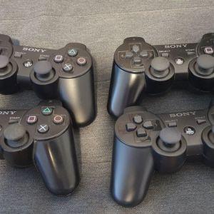 4x PS3 Dualshock 3 Controllers (Επισκευή/Ανταλλακτικά)