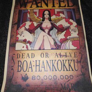 Συλλεκτικη Αφισα One Piece Boa Hankokku