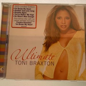 Ultimate Toni Braxton 2cd's limited edition