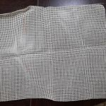 Καμβάς για μαξιλάρι Latch hook μαζί με μετρητό σχέδιο