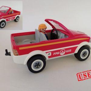 playmobil  - αυτοκίνητο πυροσβεστικής