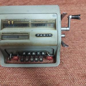 Αριθμομηχανή vintage facit  c1-13