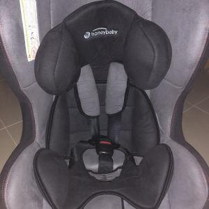 κάθισμα αυτοκινήτου 0/18 κιλά με 3 κλίσεις για να κοιμάται το παιδί
