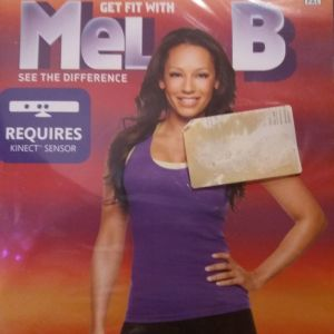 Xbox360 Get fit with Mel B